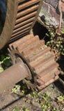 Aandrijvingswiel en z.o.z.-Toestel Royalty-vrije Stock Afbeelding