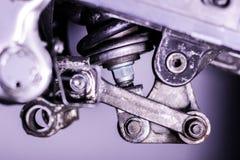 Aaneenschakeling van de motorfiets de achteropschorting Royalty-vrije Stock Afbeelding