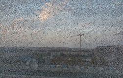 Aangemaakt en gelamineerd glas Stock Foto's