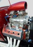 Aangepaste hoge prestatiesmotor van een auto Royalty-vrije Stock Foto