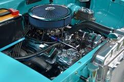 Aangepaste Motor van een auto Stock Afbeeldingen