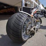 Aangepaste motorfiets stock afbeelding