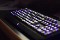 Aangestoken Computertoetsenbord stock afbeelding