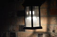 Aangestoken lantaarn in nacht 2 Royalty-vrije Stock Foto