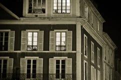 Aangestoken venster Stock Foto's