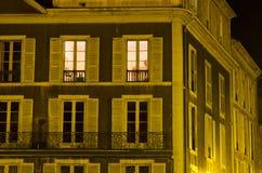 Aangestoken venster Stock Afbeelding