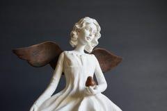 Aangetaste engel van licht royalty-vrije stock foto's