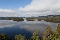 Aangewezen Grieg Op de kust van het meer is gevestigde Nurdos-manor Troldhaugen noorwegen stock foto's