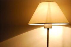 Aangezette lamp Stock Foto's
