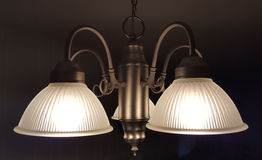 Aangezette lichten Royalty-vrije Stock Fotografie