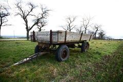 aanhangwagen stock fotografie