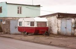 aanhangwagen Stock Foto's
