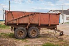 Aanhangwagen voor een tractor royalty-vrije stock fotografie