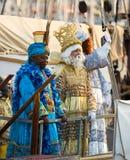 Aankomst van Drie Koningen Royalty-vrije Stock Fotografie
