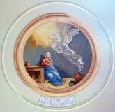 Aankondiging van Maagdelijke Mary royalty-vrije stock afbeelding