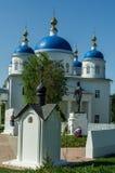Aankondigingskathedraal in de Russische stad van het gebied van Meshchovsk Kaluga Royalty-vrije Stock Fotografie