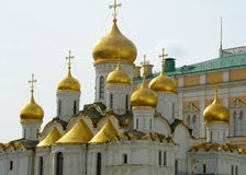 Aankondigingskathedraal in het Kremlin, Moskou royalty-vrije stock fotografie
