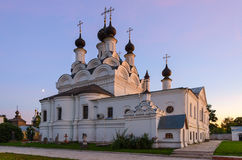Aankondigingskathedraal van het Heilige Aankondigingsklooster, Murom stock foto