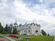 Aankondigingskathedraal van Kazan het Kremlin stock foto's