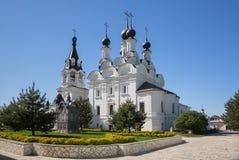 Aankondigingsklooster Murom, Rusland stock foto's