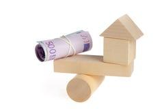 Aankoop van onroerende goederen - een metafoor Stock Foto's
