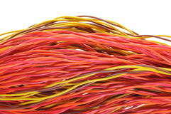 Aanleg van kabelnetten, gegevenstransmissie Stock Afbeelding