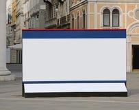 Aanplakbord in stad Stock Afbeeldingen
