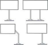 Aanplakbord, vector royalty-vrije illustratie