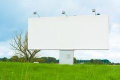 Aanplakbord voor reclame Royalty-vrije Stock Foto's
