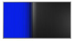 Aanplakborden met de blauwe en groene schermen stock footage