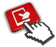Aanraking Tab Icon Stock Fotografie