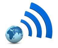 Aansluting wi-FI vector illustratie