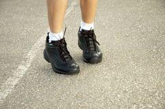 Aanstotende schoenen Royalty-vrije Stock Afbeelding