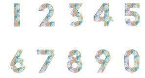 aantal Royalty-vrije Stock Afbeeldingen