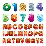 Aantal en alfabet vector illustratie