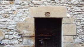 Aantal 10 gesloten deur Stock Foto