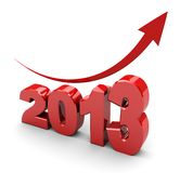 Aantal jaar Royalty-vrije Stock Afbeeldingen
