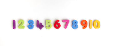aantallen Stock Afbeelding