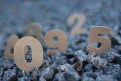 aantallen Royalty-vrije Stock Afbeelding