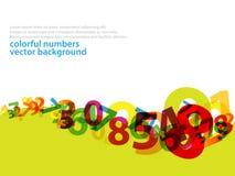 Aantallen background_2 Stock Illustratie