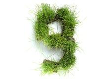 Aantallen die van gras worden gemaakt Stock Afbeelding