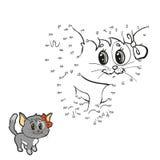 Aantallenspel (kat) vector illustratie