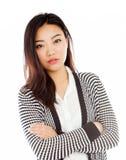 Aantrekkelijk Aziatisch meisje 20 jaar oud schot in studio Royalty-vrije Stock Afbeelding