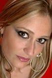 Aantrekkelijk blond model Royalty-vrije Stock Afbeelding