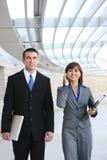 Aantrekkelijk Commercieel Team Royalty-vrije Stock Foto's