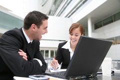 Aantrekkelijk Commercieel Team stock fotografie