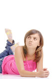 Aantrekkelijk jong meisje stock fotografie