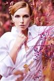 Aantrekkelijk jong model Stock Foto's