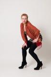 Aantrekkelijk meisjesportret Stock Fotografie