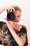 Aantrekkelijk meisjesportret Stock Afbeelding